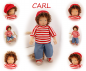 Preview: CARL Puppenkind  44cm