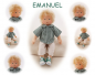 Preview: EMANUEL Puppenkind  44cm