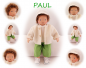 Preview: PAUL Puppenkind  44cm