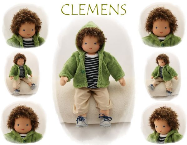 CLEMENS Puppenkind  44cm