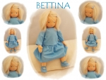 BETTINA Puppenkind  44cm