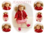 JEANNETTE Puppenkind  48cm