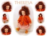 THERESA Puppenkind  44cm