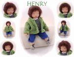 HENRY Puppenkind  44cm